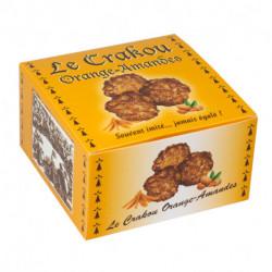 Le Crakou Orange et Amandes - Étui carton 200g