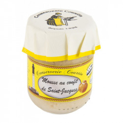 Verrine de mousse au confit de Saint-Jacques