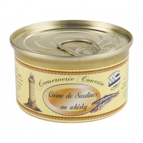 Crème de sardines au whisky 130 g