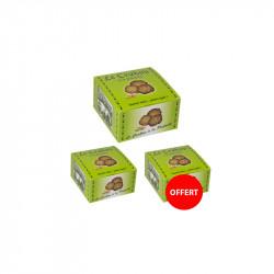 2 boîtes de crakou pistache achetées, la 3 ème OFFERTE